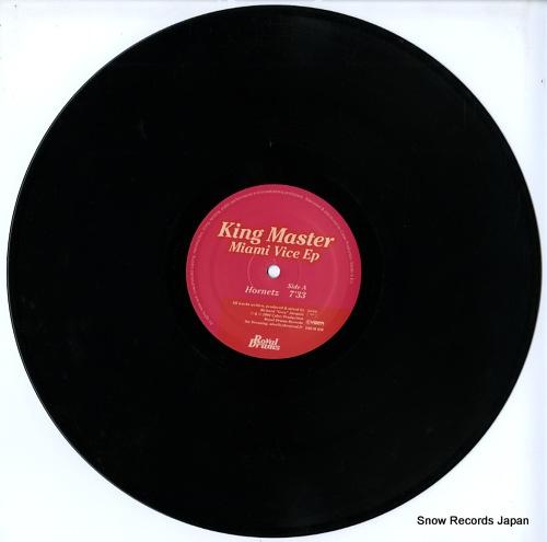 KING MASTER miami vice ep DRUM020 - disc
