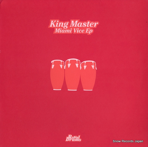 KING MASTER miami vice ep DRUM020 - front cover