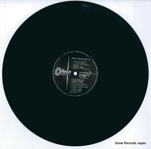 MACIAS, ENRICO enrico macias best20 EOS-90006 - disc