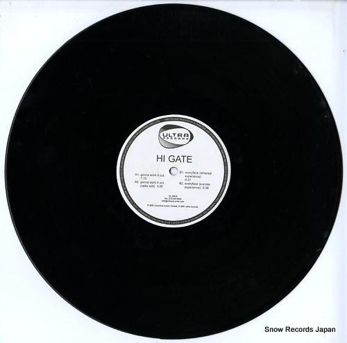 HI-GATE gonna work it out / everyface UL085-6 - disc