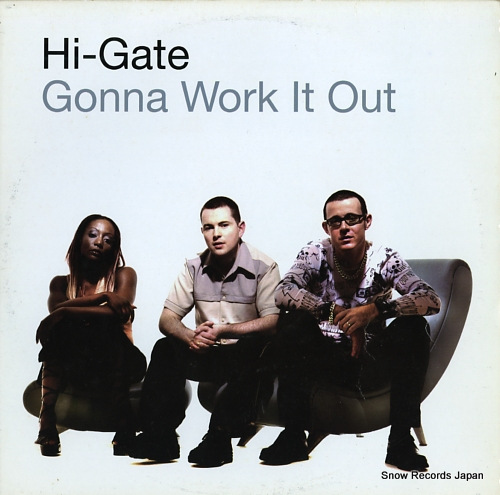 HI-GATE gonna work it out / everyface UL085-6 - front cover