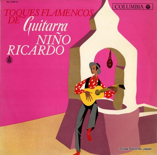 RICARDO, NINO toques flamencos de guitarra SL-1182-H - front cover