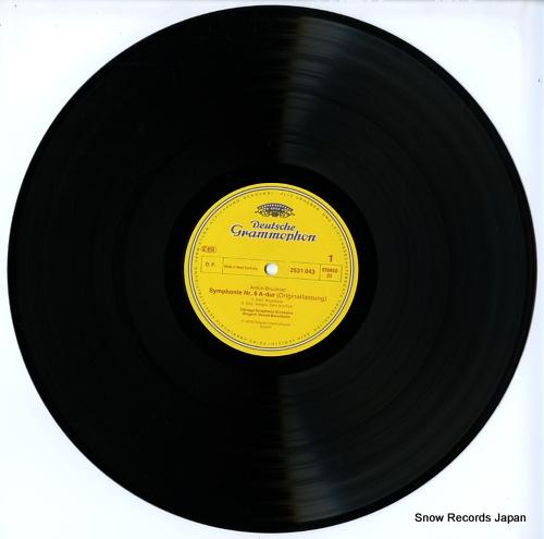 BARENBOIM, DANIEL bruckner; symphonie nr.6 2531043 - disc