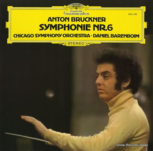BARENBOIM, DANIEL bruckner; symphonie nr.6 2531043 - front cover