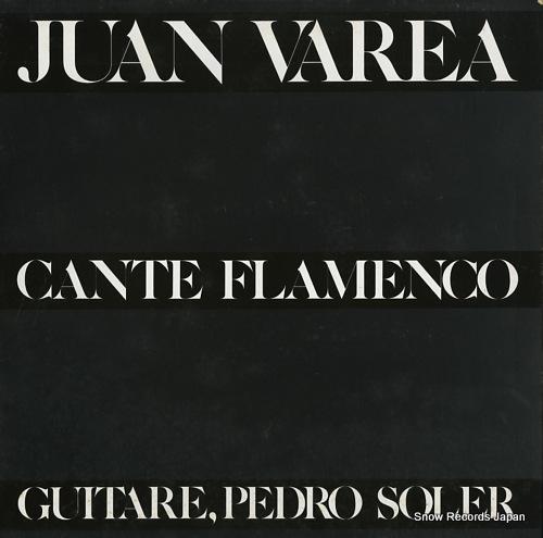 JUAN VAREA cante flamenco LDX74782