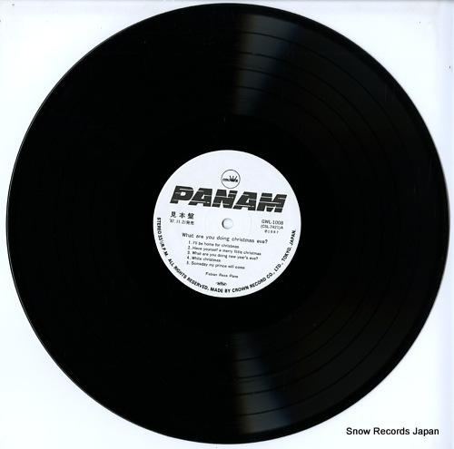 PANE, FEBIAN REZA what are you doing christmas eve? GWL-1008 - disc