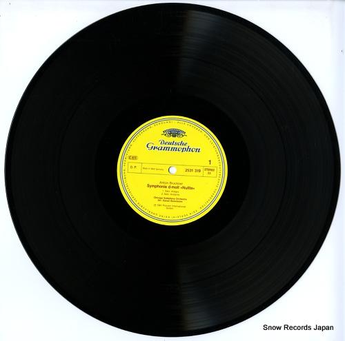 BARENBOIM, DANIEL bruckner; symphonie nr.0 2531319 - disc