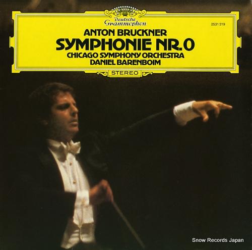 BARENBOIM, DANIEL bruckner; symphonie nr.0 2531319 - front cover