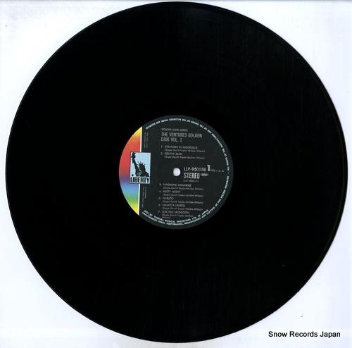 VENTURES, THE golden disc vol.1 LLP-95015B - disc