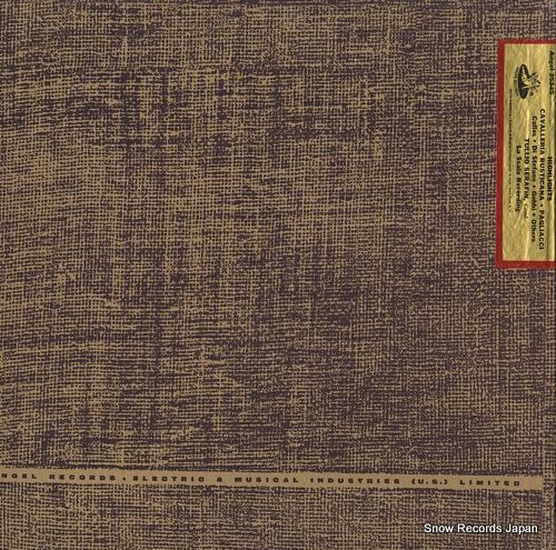 トゥリオ・セラフィン mascagni; cavalleria rusticana, pagliacci (highlights) ANGEL35345