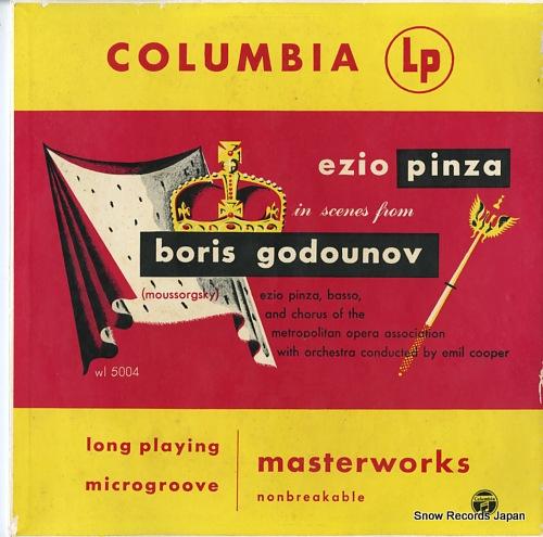 エツィオ・ピンツァ moussorgsky; boris godounov WL5004