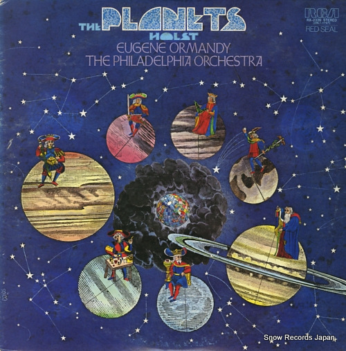 ORMANDY, EUGENE holst; the planets op.32 RX-2339 - front cover