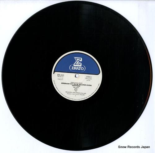 PAILLARD, JEAN-FRANCOIS mozart; serenade no.7
