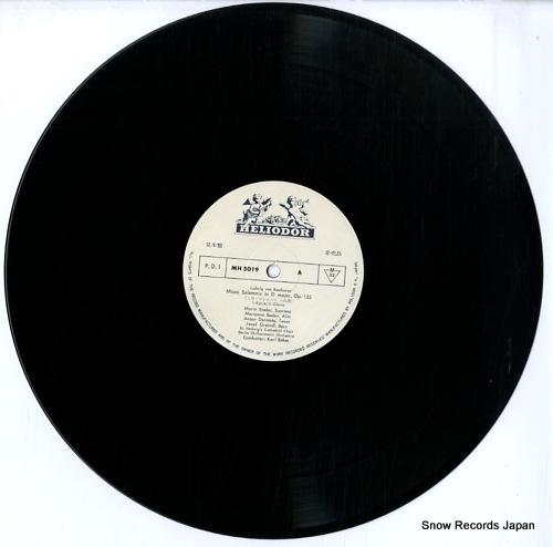 BOHM, KARL beethoven; missa solemnis MH5019/20 - disc