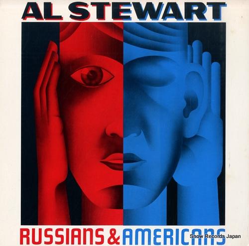 STEWART, AL russians & americans PB6042 - front cover