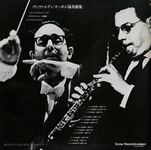 PIERLOT, PIERRE vivaldi; les concertos pour hautbois et orchestre ERA-2166-7 - back cover