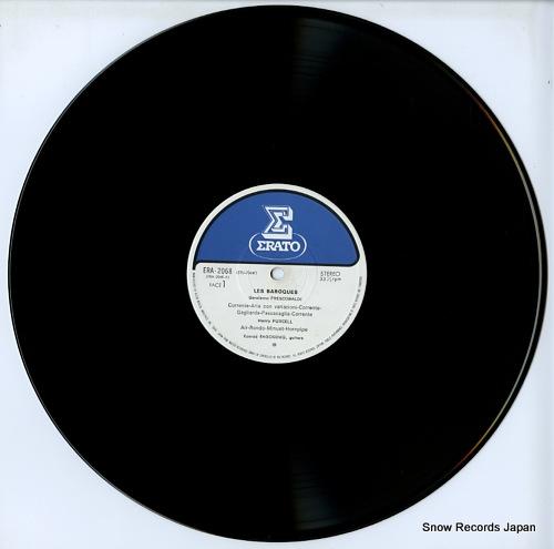 RAGOSSNIG, KONRAD les baroques ERA-2068 - disc