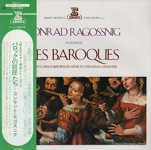 RAGOSSNIG, KONRAD les baroques ERA-2068 - front cover