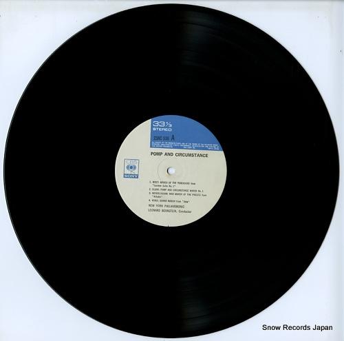 BERNSTEIN, LEONARD pomp and circumstance 23AC538 - disc