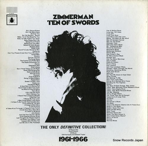 ボブ・ディラン zimmerman ten of swords CL16319