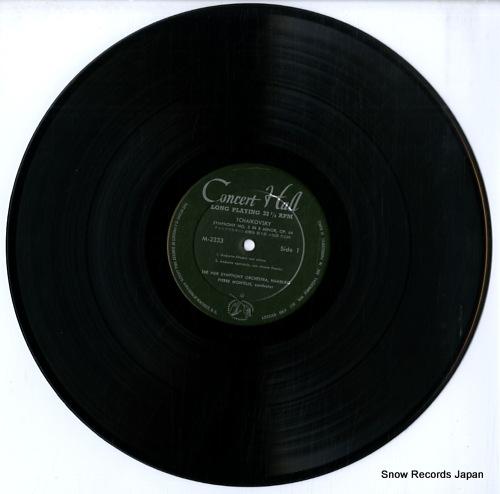 MONTEUX, PIERRE tchaikovsky; symphony no.5 in e minorf op.64 M-2333 - disc