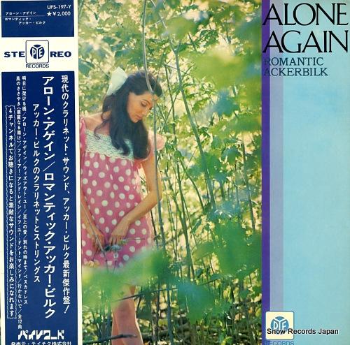 BILK, ACKER - alone again / romantic acker bilk - UPS-197-Y