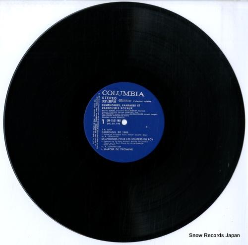 DOUTTE, ROLAND symphonies, fanfares et carrousels royaux OW-7531-MU - disc