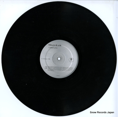 FRIBURN & URIK i need you TB-2467-0 - disc
