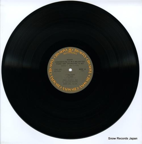 CASADESUS, ROBERT mozart; piano concerto no.21in c major k.467 13AC1067 - disc