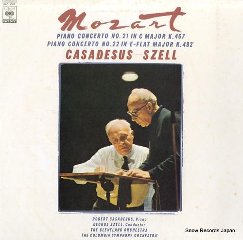 CASADESUS, ROBERT mozart; piano concerto no.21in c major k.467 13AC1067 - front cover