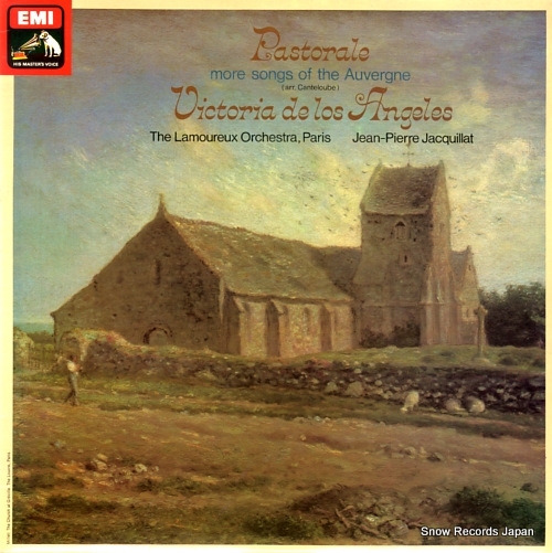 JACQUILLAT, JEAN-PIERRE pastorale more songs from the auvergne ASD3134 - front cover