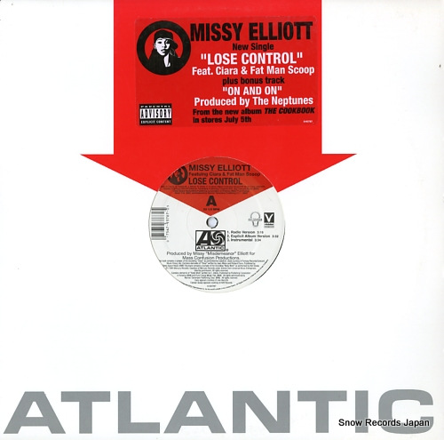 ELLIOTT, MISSY lose control / on & on 0-93787 - front cover