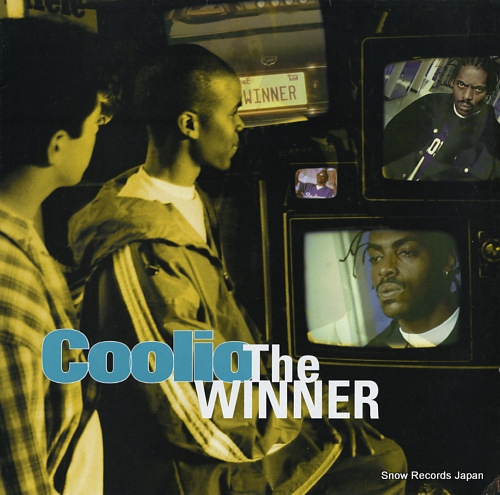 COOLIO the winner A5433T - front cover