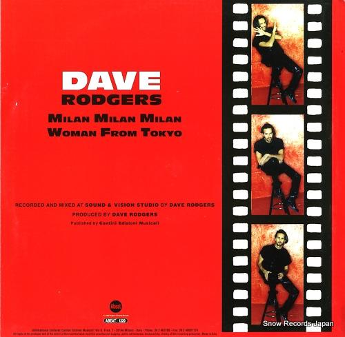 DAVE RODGERS milan milan milan / woman from tokyo ABEAT1220