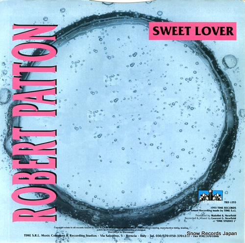 ロバート・パットン sweet lover TRD1293