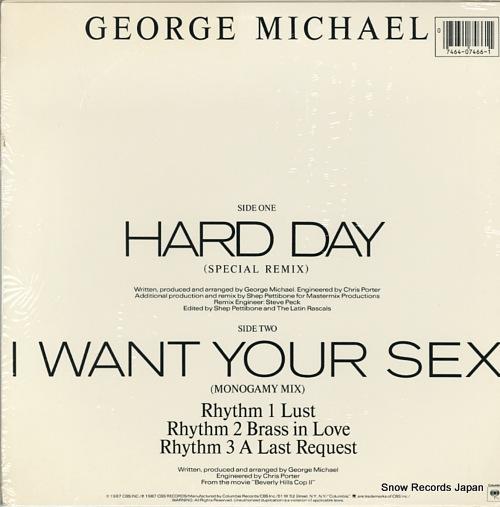 ジョージ・マイケル hard day 44.07466