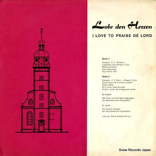 V/A lobe den herren / i love to praise de lord D1114 - front cover