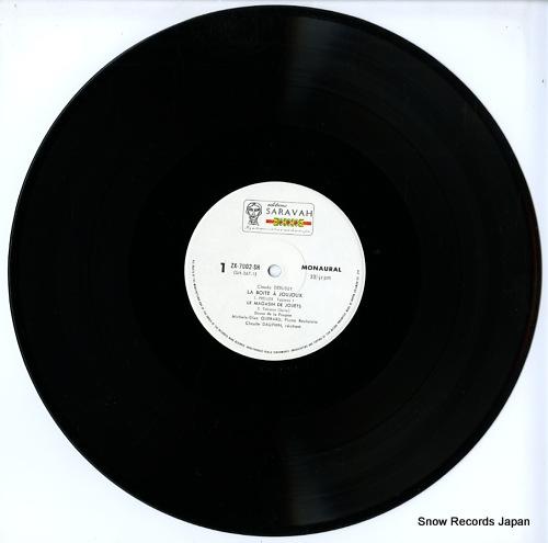 QUERARD, MICHELE-ELISE debussy; la boite a joujoux ZX-7002-SH - disc
