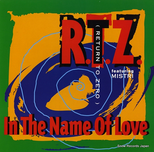 R.T.Z. in the name of love 2000529 - front cover