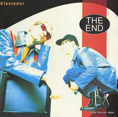 END, THE elastador FLY141 - front cover