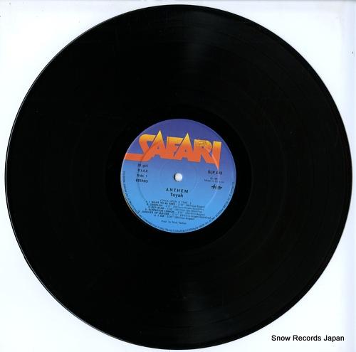 TOYAH anthem SLP/403 - disc