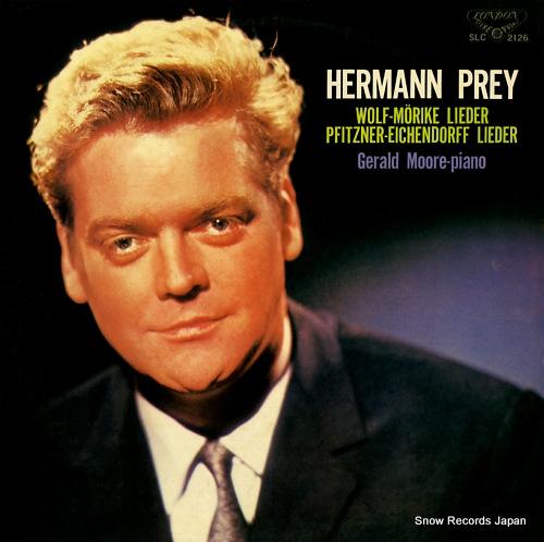 PREY, HERMANN wolf; morike lieder SLC2126 - front cover