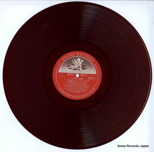 FISCHER-DIESKAU, DIETRICH brahms; lieder AB-8079 - disc