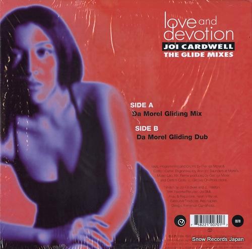 CARDWELL, JOI love and devotion(the glide mixes) EB70 - back cover