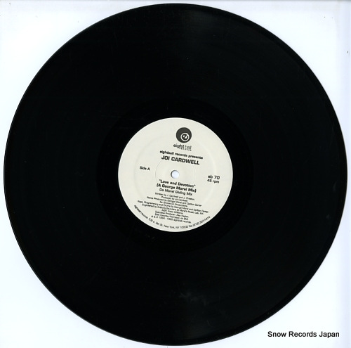 CARDWELL, JOI love and devotion(the glide mixes) EB70 - disc