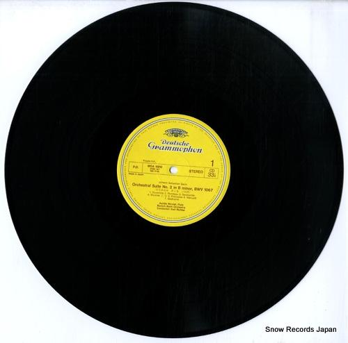 RICHTER, KARL bach; orchestral suite no.2 & 3 MGA9910 - disc