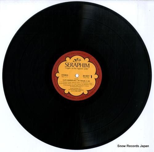 SHAFFER, ELAINE mozart; flute concerto no1. / no.2 AA.5027 - disc