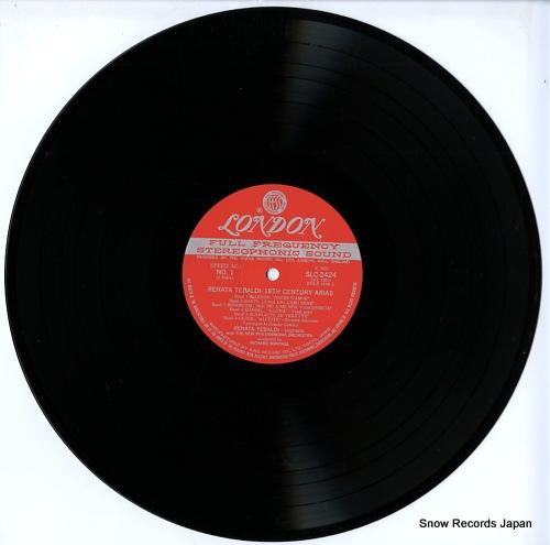TEBALDI, RENATA 18th century arias SLC2424 - disc