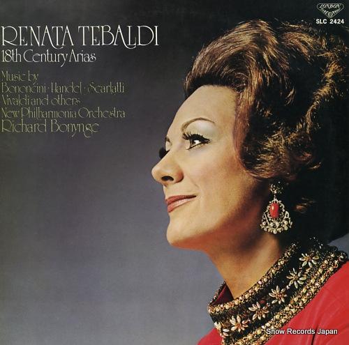 TEBALDI, RENATA 18th century arias SLC2424 - front cover