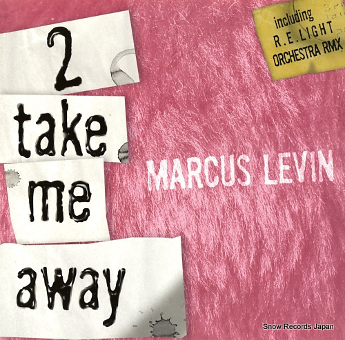 LEVIN, MARCUS 2 take me away RTJ005 - front cover